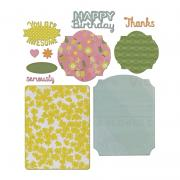 Sizzix Thinlits Die Set 11PK - Card, Basics