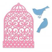 Sizzix Thinlits Die Set 3PK - Birdcage