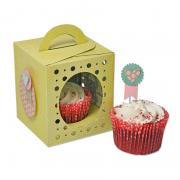 Sizzix Thinlits Plus Die Set 18PK - Box, Cupcake