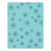 Sizzix Texture Fades Embossing Folder - Sparkles by Tim Holtz