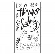 Sizzix Clear Stamps - Hello Darling