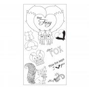 Sizzix Interchangeable Clear Stamps - Fox Tales