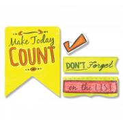 Sizzix Framelits Die Set 10PK w/Stamps - Make Today Count