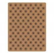 Sizzix Texture Fades Embossing Folder - Dotted Bullseye