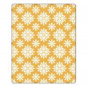 Sizzix Textured Impressions Embossing Folder - Daisy Wreath