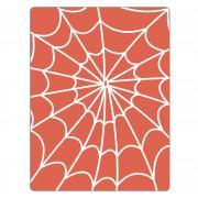 Sizzix Textured Impressions Embossing Folder - Spiderweb