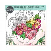 Sizzix Coloring Book - Take a Moment to Breathe