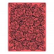 Sizzix Texture Fades Embossing Folder - Roses