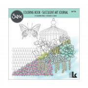 Sizzix Coloring Book - Succulent Art Journal