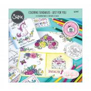 Sizzix Coloring Sendables - Just for You