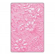 Sizzix 3-D Textured Impressions Embossing Folder - Bohemian Botanicals