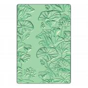 Sizzix 3-D Textured Impressions Embossing Folder - Lily Pond