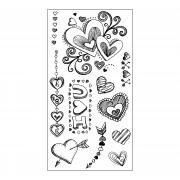 Sizzix Clear Stamps - Doodle Love