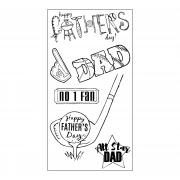 Sizzix Clear Stamps - All Star Dad
