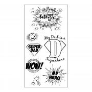 Sizzix Clear Stamps - Super Dad
