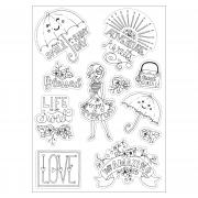 Sizzix Coloring Stickers - Enjoy Every Day