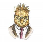Sizzix Framelits Die Set 5PK - Hipster Bird
