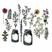 Sizzix Framelits Die Set 16PK - Flower Jar