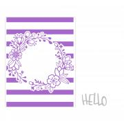 Sizzix Impresslits Embossing Folder - Wildflower Frame