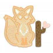 Sizzix Thinlits Die Set 4PK - Fox #2