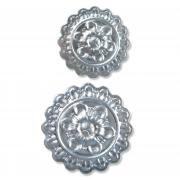 Sizzix 3-D Impresslits Embossing Folder - Medallion