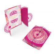 Sizzix Thinlits Die Set 7PK - Card, Moroccan Lace Flip and Fold
