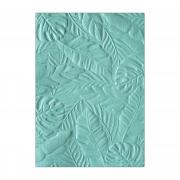 Sizzix 3-D Textured Impressions Embossing Folder - Tropical Leaves