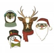 Sizzix Thinlits Die Set 24PK - Cool Yule by Tim Holtz