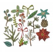 Sizzix Thinlits Die Set 16PK - Funky Festive by Tim Holtz
