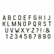 Sizzix Bigz XL Alphabet Die - Letterboard