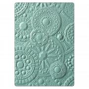 Sizzix 3-D Textured Impressions Embossing Folder - Mosaic Gems