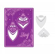 Sizzix Impresslits Embossing Folder - Season of Joy