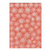 Sizzix Textured Impressions Plus Embossing Folder - Flores Navideñas (Christmas Flowers)