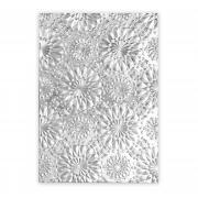 Sizzix 3-D Texture Fades Embossing Folder - Kaleidoscope