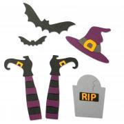 Sizzix Thinlits Die Set 9PK - Spooky Witch