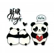 Sizzix Framelits Die Set 5PK w/Stamps - Bear Hugs