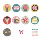 Sizzix Thinlits Die Set 13PK - Mini Sweet Treats