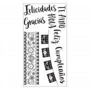 Sizzix Clear Stamps - Spanish Phrases