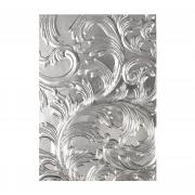 Sizzix 3-D Texture Fades Embossing Folder - Elegant by Tim Holtz