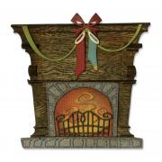 Sizzix Thinlits Die Set 10PK - Fireside by Tim Holtz