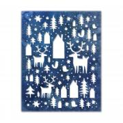 Sizzix Thinlits Die - Nordic Winter by Tim Holtz