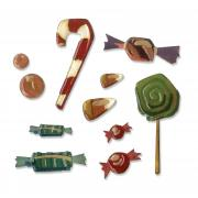 Sizzix Thinlits Die Set 11PK - Sweet Treats by Tim Holtz