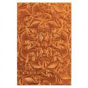 Sizzix 3-D Textured Impressions Embossing Folder - Floral Mandala