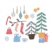 Sizzix Thinlits Die Set 22PK - Christmas Cheer