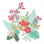 Sizzix Thinlits Die Set 24PK - Floral Abundance