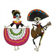 Sizzix Thinlits Die Set 21PK - Day of the Dead, Colorize by Tim Holtz