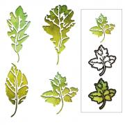 Sizzix Thinlits Die Set 8PK - Leaf Print by Tim Holtz