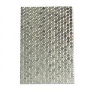 Sizzix 3-D Textured Impressions Embossing Folder - Honeycomb Frenzy
