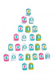 How to make a Gift Tag Advent Calendar