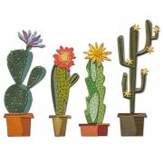 Sizzix Thinlits Die Set 9PK - Funky Cactus by Tim Holtz